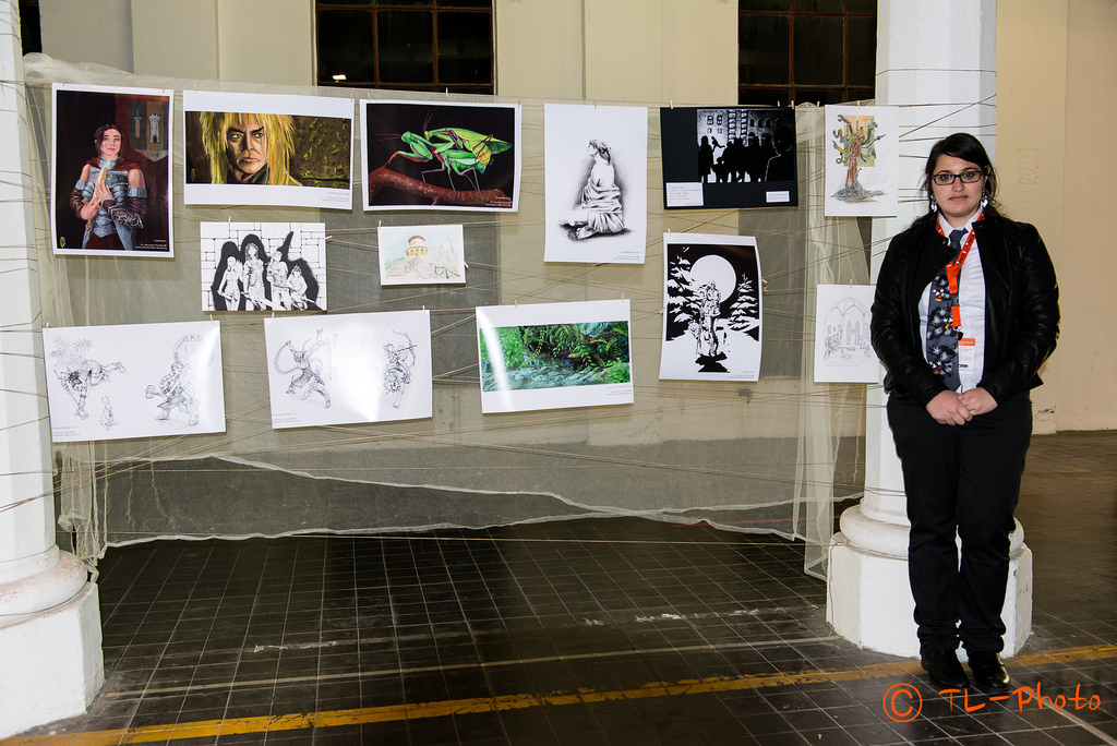 My first exhibition